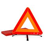 Знак аварийной остановки - треугольник на дорогу